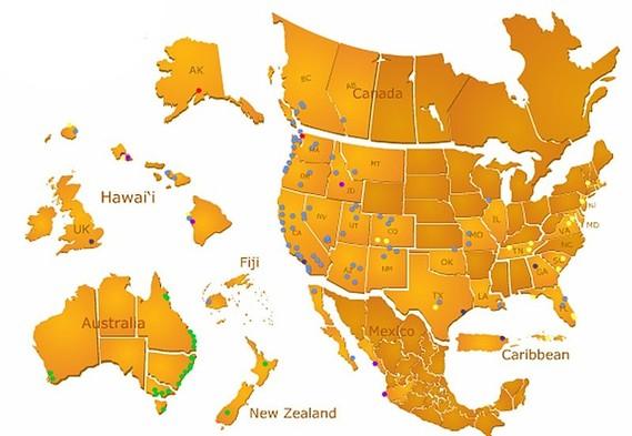 遍佈美、加、紐、澳、歐、夏威夷、斐濟等數超過數百渡假屋!! 詳情按此查詢訂定!!
